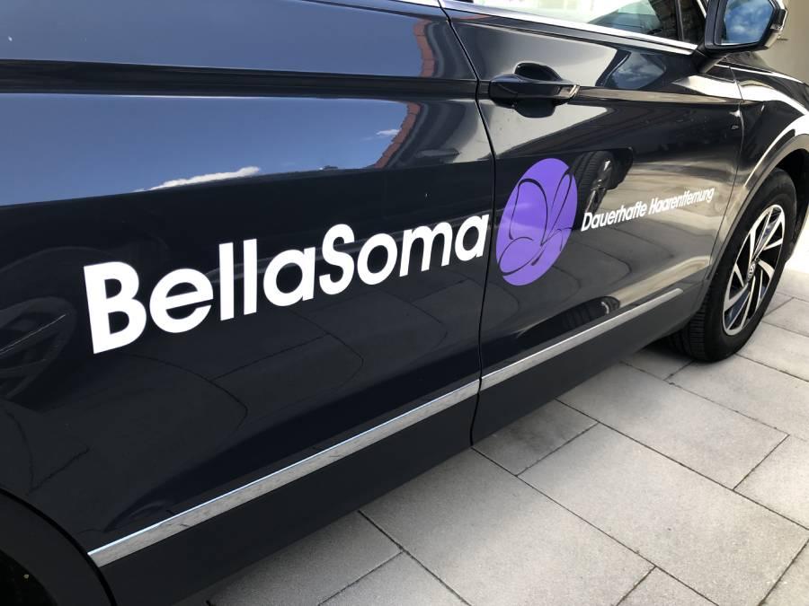 autobeklebung mit logo