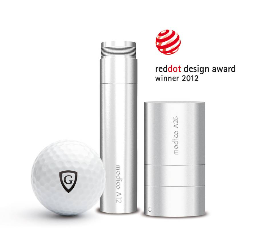 individuelle stempel golfball